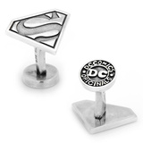 Sterling Superman Cufflinks Novelty