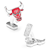 Palladium Chicago Bulls Cufflinks Novelty
