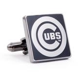 Chicago Cubs Black Series Cufflinks Novelty