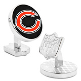 Palladium Chicago Bears Cufflinks Novelty