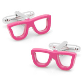 Cool Cut Pink Shades Cufflinks Novelty