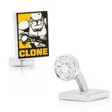Clone Trooper Pop Art Poster Cufflinks Novelty