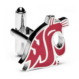 Washington State Cougars Cufflinks Novelty