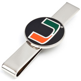 University of Miami Hurricanes Tie Bar Novelty
