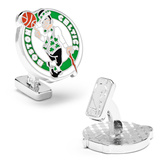 Palladium Boston Celtics Cufflinks Novelty