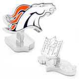 Palladium Denver Broncos Cufflinks Novelty