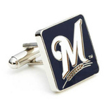 Milwaukee Brewers Cufflinks Novelty