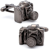 Camera Cufflinks Novelty