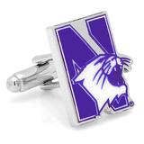 Northwestern University Wildcats Cufflinks Novelty