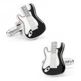 Electric Guitar Cufflinks Novelty