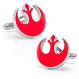 Star Wars Rebel Alliance Symbol Cufflinks Novelty
