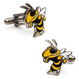 Georgia Tech Yellow Jackets Cufflinks Novelty