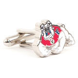 Fresno State University Cufflinks Novelty