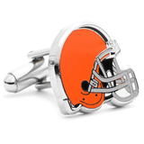 Cleveland Browns Cufflinks Novelty