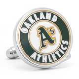 Oakland A's Cufflinks Novelty