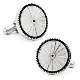 Bicycle Cufflinks Novelty