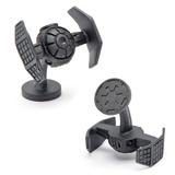 Star Wars Matte Black Darth Vader Tie Starfighter Cufflinks Novelty