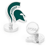 Palladium Michigan State Spartans Cufflinks Novelty