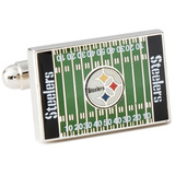 Pittsburgh Steeler's Field Cufflinks Novelty