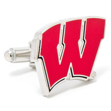University of Wisconsin Badgers Cufflinks Novelty