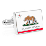 California State Flag Cufflinks Originalt