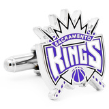 Sacramento Kings Cufflinks Novelty