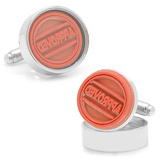 APPROVED Stamp Cufflinks Novelty