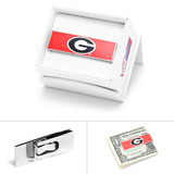 University of Georgia Bulldogs Money Clip Novelty