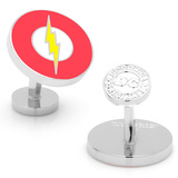 Flash Logo Cufflinks Novelty