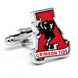 Vintage University of Alabama Crimson Tide Cufflinks Novelty