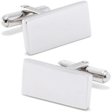 Stainless Steel Bar Cufflinks Novelty