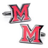 Miami University of Ohio Cufflinks Novelty