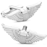 Aviator's Wings Cufflinks Novelty
