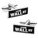 Vintage Wall Street Cufflinks Novelty