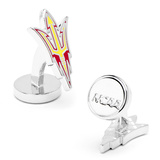 Palladium Arizona State Sun Devils Pitchfork Cufflinks Novelty