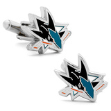 San Jose Sharks Cufflinks Novelty