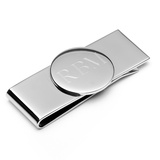 Stainless Steel Round Infinity Money Clip Novelty