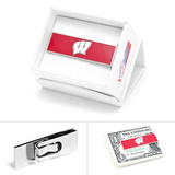 University of Wisconsin Badgers Money Clip Novelty