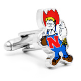 Vintage University of Nebraska Cornhuskers Cufflinks Novelty