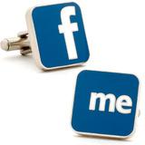 Facebook Me Cufflinks Novelty