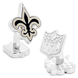 Palladium New Orleans Saints Cufflinks Novelty