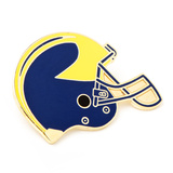 University of Michigan Helmet Lapel Pin Novelty
