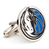 Dallas Mavericks Cufflinks Novelty