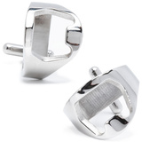 Stainless Steel Bottle Opener Cufflinks Novelty
