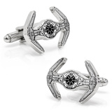 Star Wars Darth Vader TIE Starfighter Blueprint Cufflinks Novelty