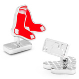 Palladium Boston Red Sox Cufflinks Novelty