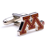 Minnesota Golden Gopher Cufflinks Novelty