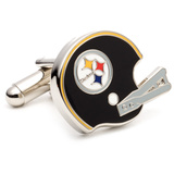 Retro Steelers Cufflinks Novelty