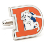 Vintage Broncos Cufflinks Novelty