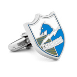Vintage Chargers Cufflinks Novelty